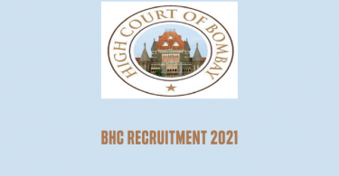 BHC Recruitment 2021